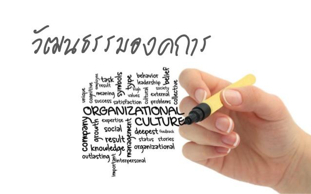 วัฒนธรรมองค์กร