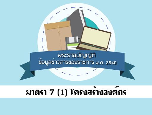 แนวข้อสอบพระราชบัญญัติข้อมูลข่าวสารของทางราชการ