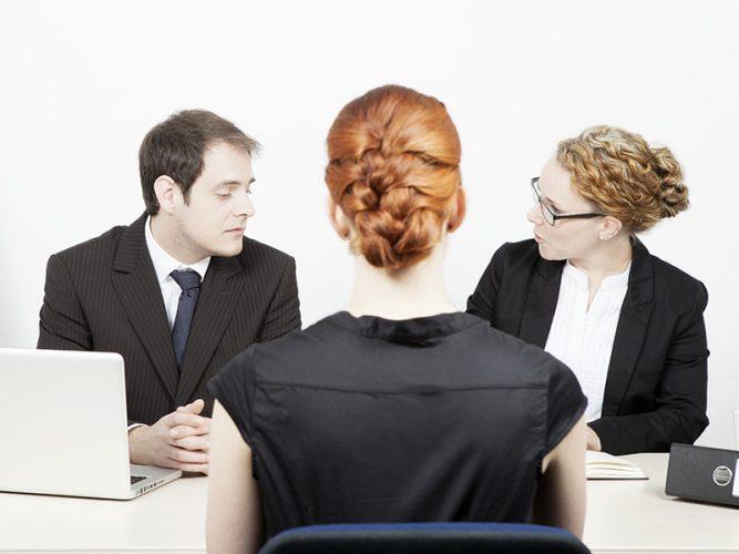 วิธีสัมภาษณ์งาน